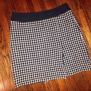 Ann Taylor | Patterned Wool Skirt